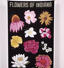 OnTheCusp Indiana Flower Print 11X17