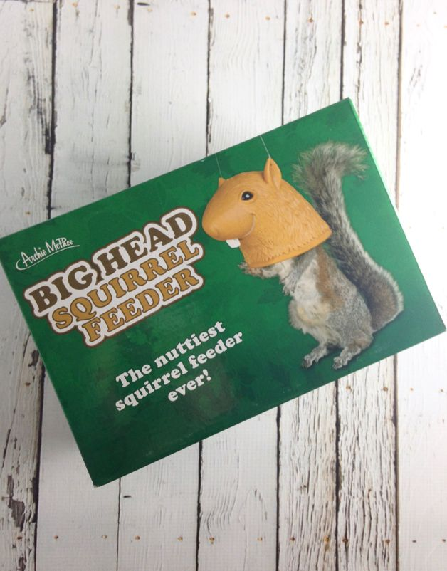 Big Head Squirrel Feeder