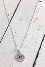 Sterling Silver Journey (Compass) Necklace