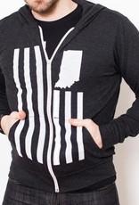 United State of Indiana (USI) Flag T-Shirt Hoodie