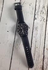 Mason Watch by Tokyo Bay, Black with Black Metal Dial