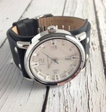 Archer Watch, Black with White Dial