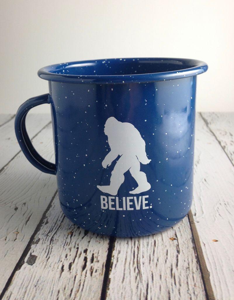 Bigfoot Enamel Mug