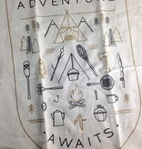 Adventure Awaits Teatowels, Set/2