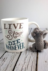 Two for Tea Slow Brew Sloth Infuser and Mug Set
