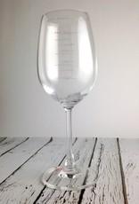 SAUCED! Measuring Wine Glass