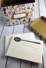 Herb Garden Tin Recipe Box