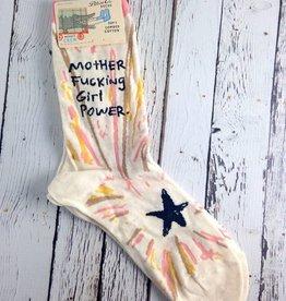 MFing Girl Power Socks