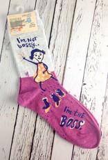 I'm Not Bossy Women's Crew Socks