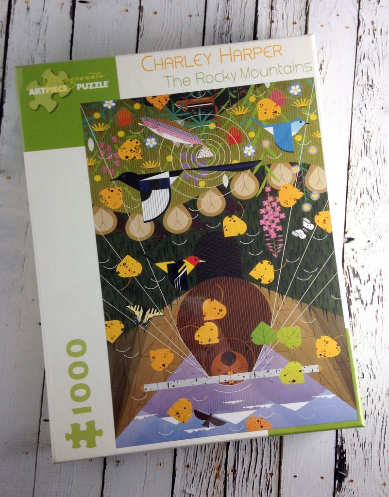 Charley Harper Rocky Mountains Puzzle