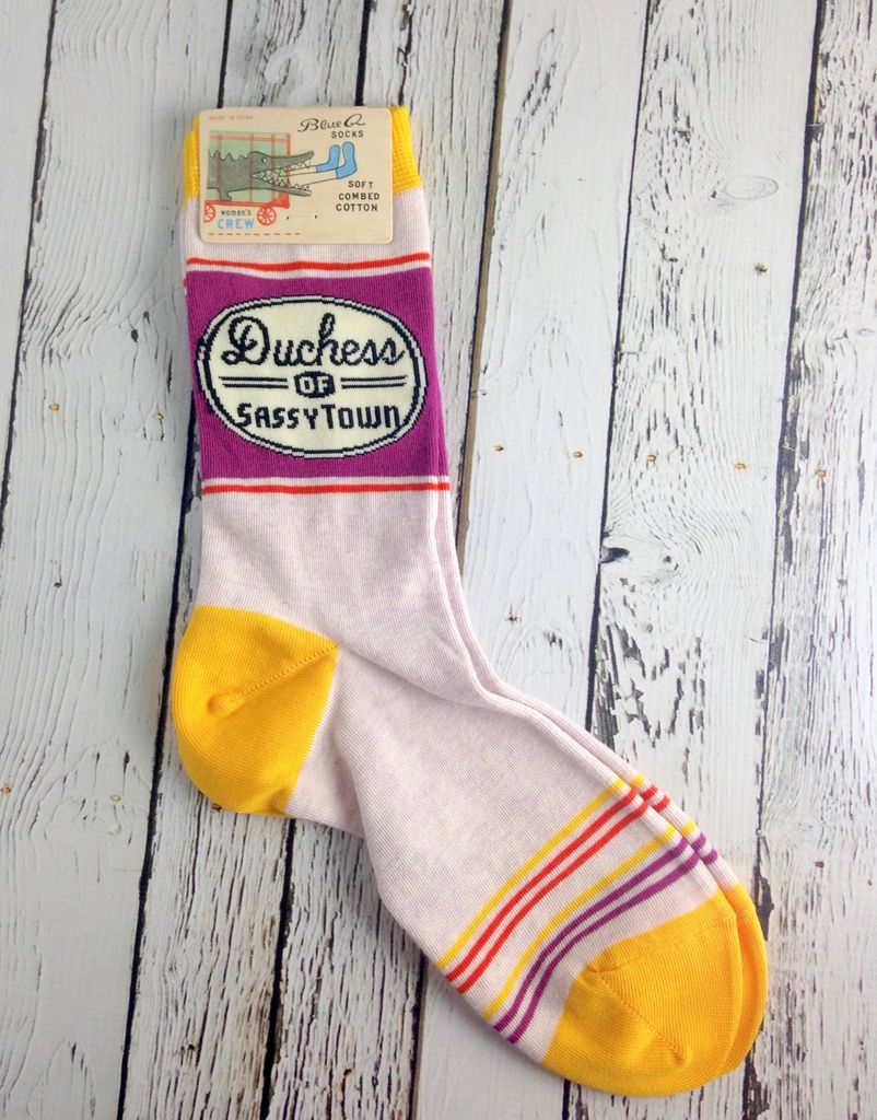 Duchess Women's Crew Socks