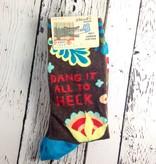 Dang It All To Heck Crew Socks