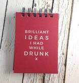 Brilliant Ideas I Had While Drunk Journal