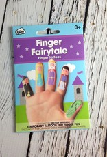 Finger Fairytale Temporary Tattoos