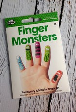 Finger Monsters Temporary Tattoos