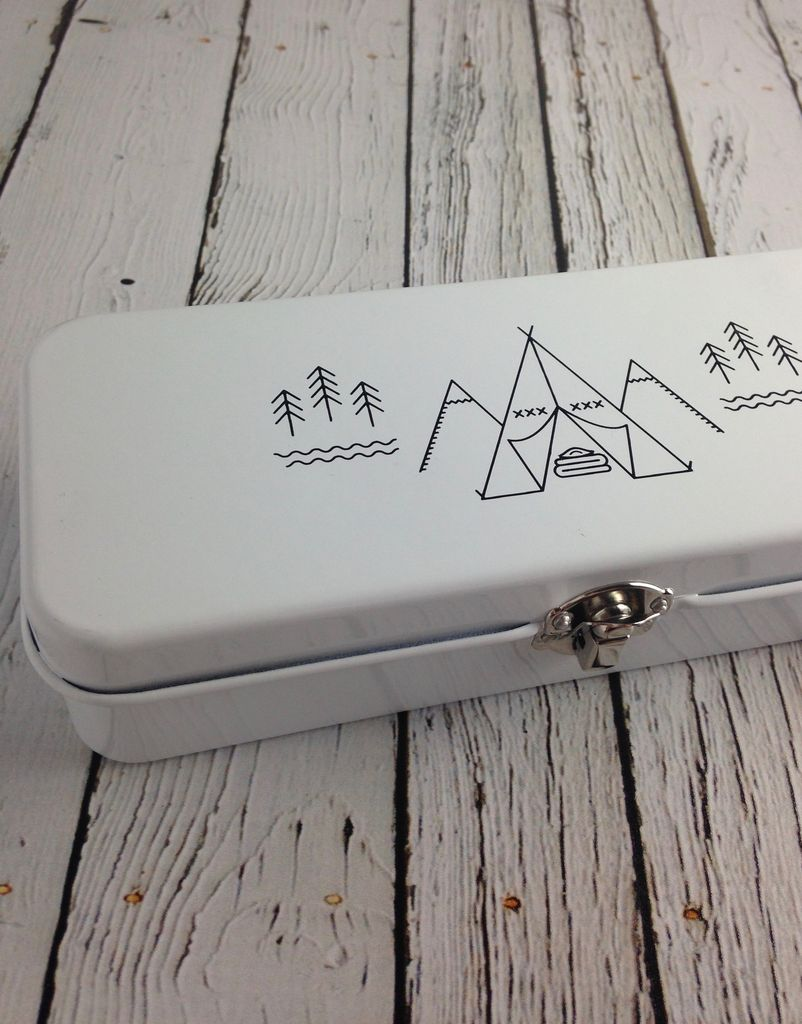 Adventure Awaits Pencil Box