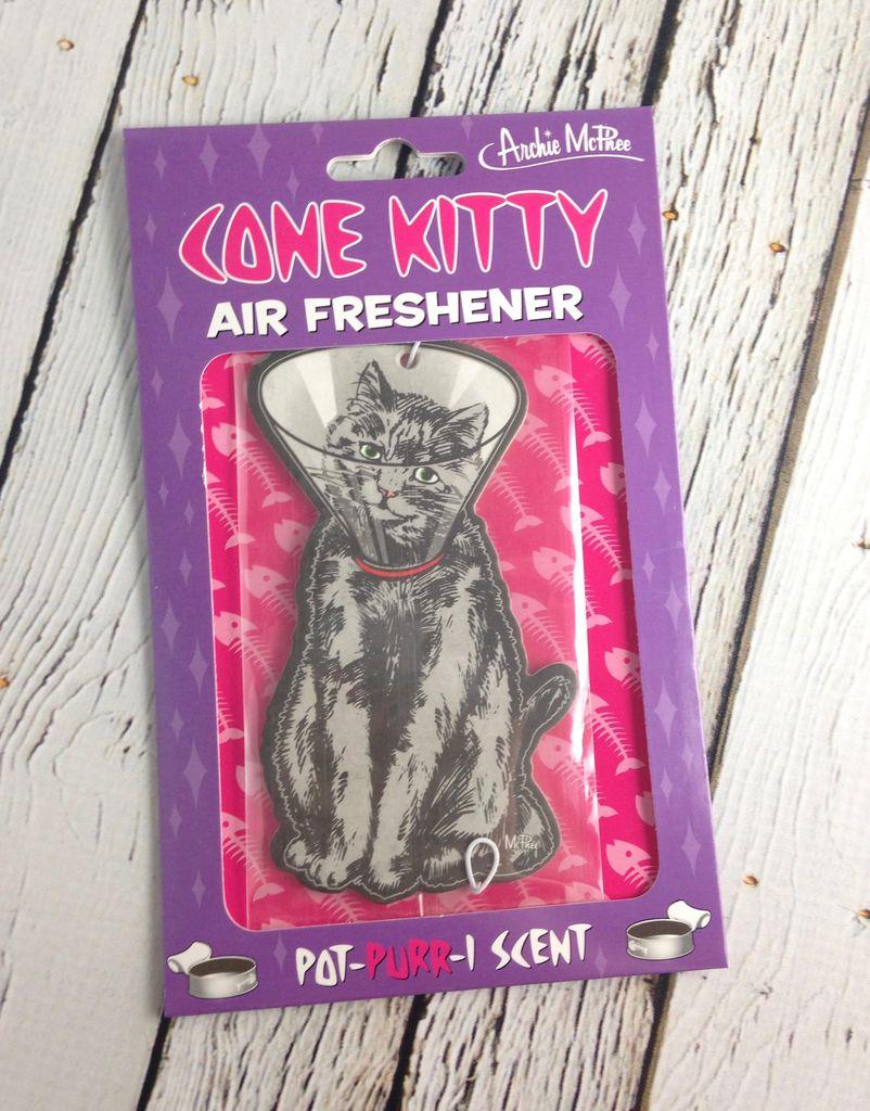 Cone Kitty Air Freshner