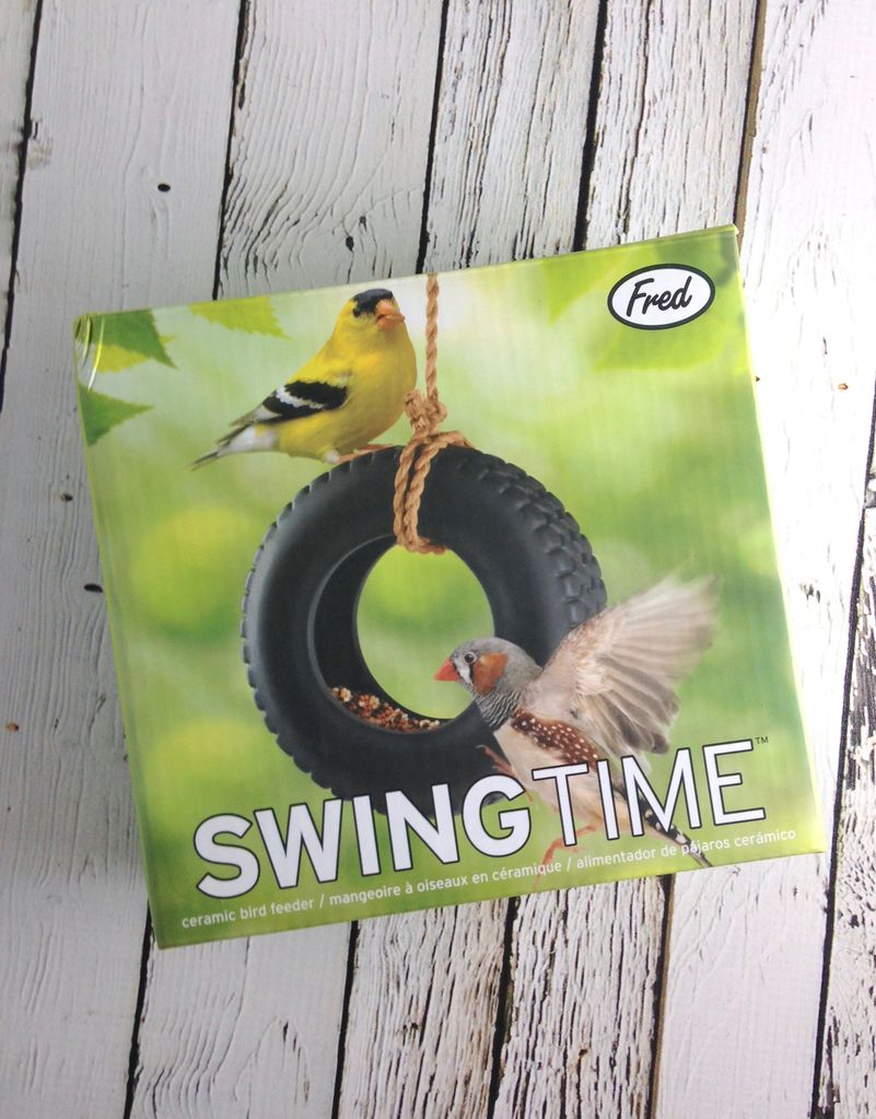 Swing Time Bird Feeder