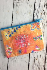 Heart of Gold Coin Purse