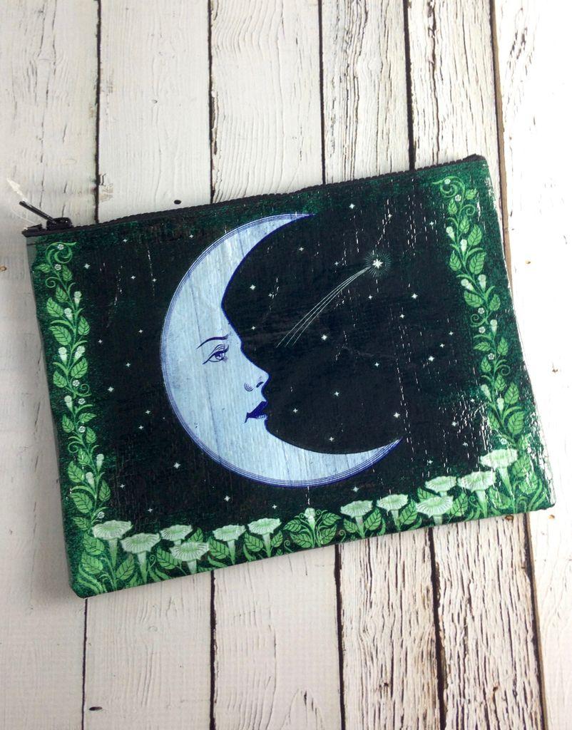 Moon Zipper Pouch