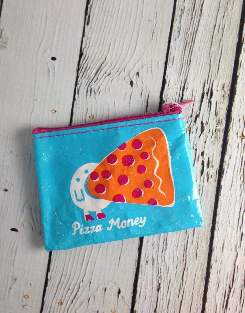 Pizza Money Coin Purse