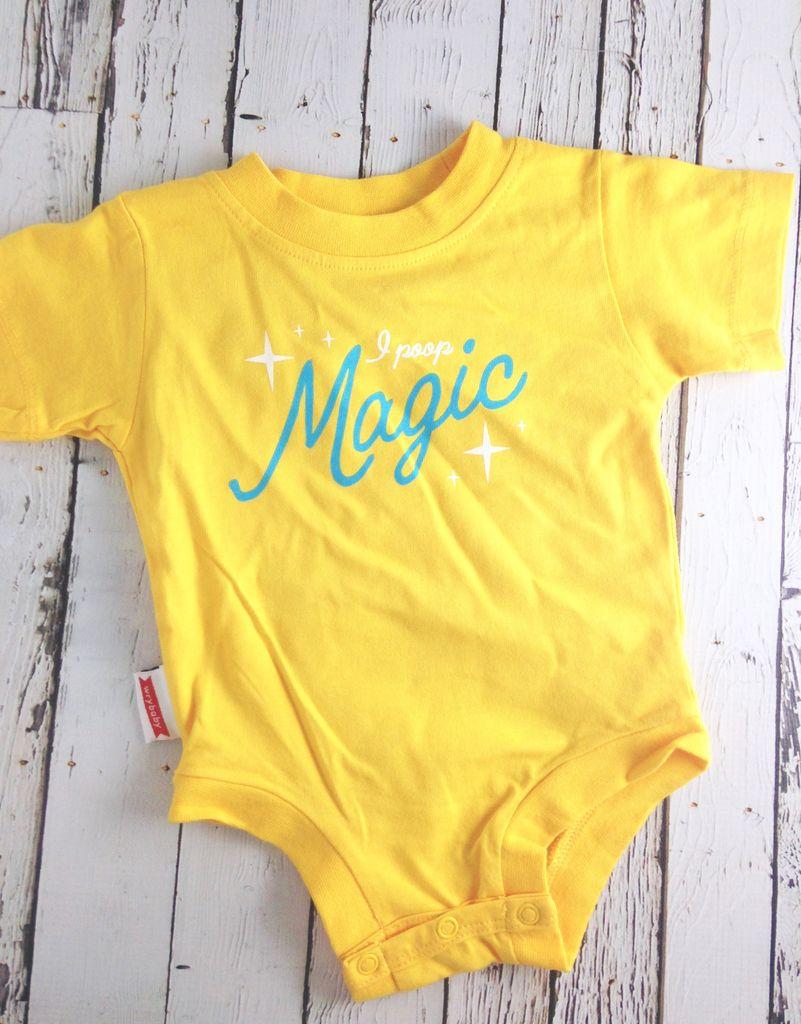 I Poop Magic 6-12 Month Onesie
