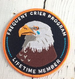 Frequent Crier Club Patch