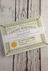 Fill In Everyday Achievement Certificates