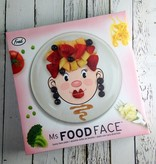 Ms. Food Face plate