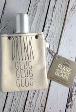 Drink Glug Glug Flask