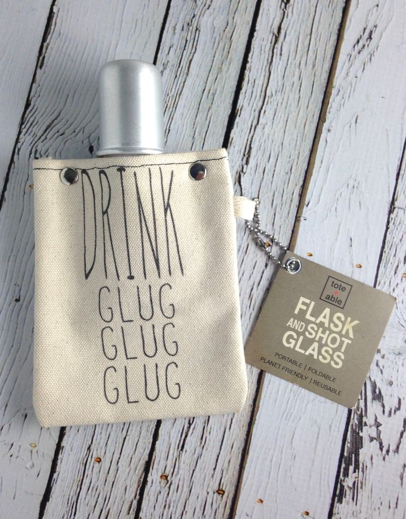Drink Glug Glug Flask