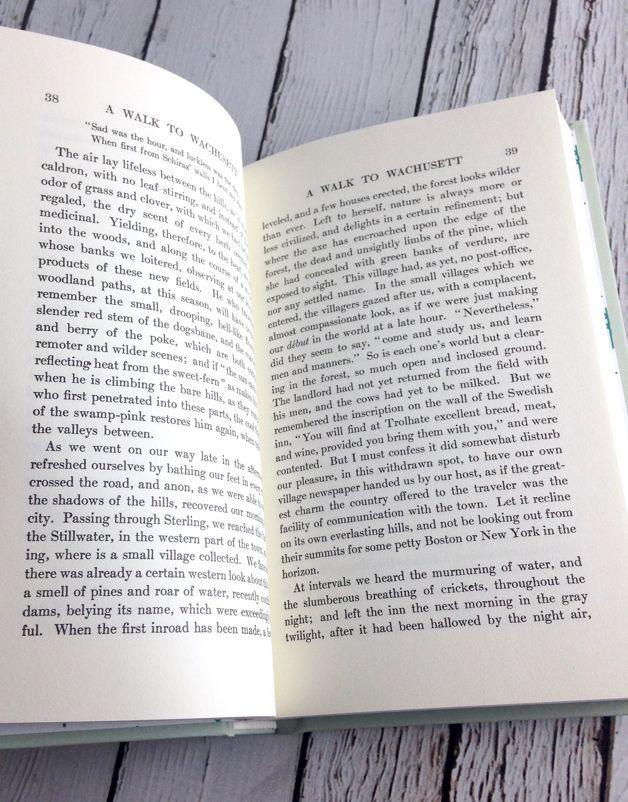 GIBBS SMITH Henry David Thoreau Natural History Essays
