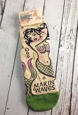 Makin' Waves Women's Ankle Socks