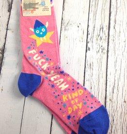 Fuck Yeah Kind Of Day Women's Crew Socks