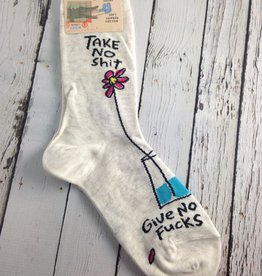 Take No Shit Women's Crew Socks