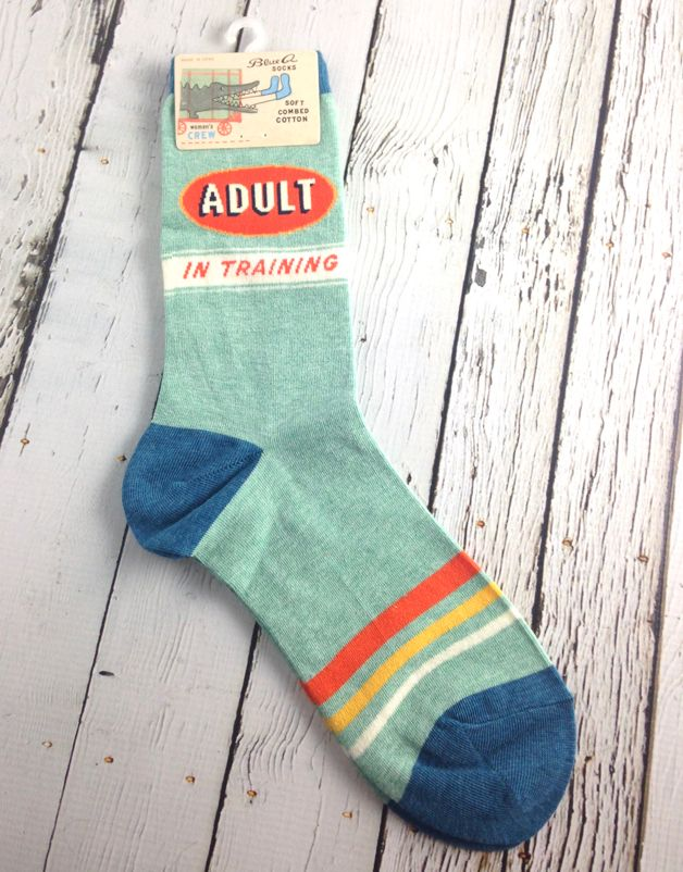 Adult In Training Women's Crew Socks