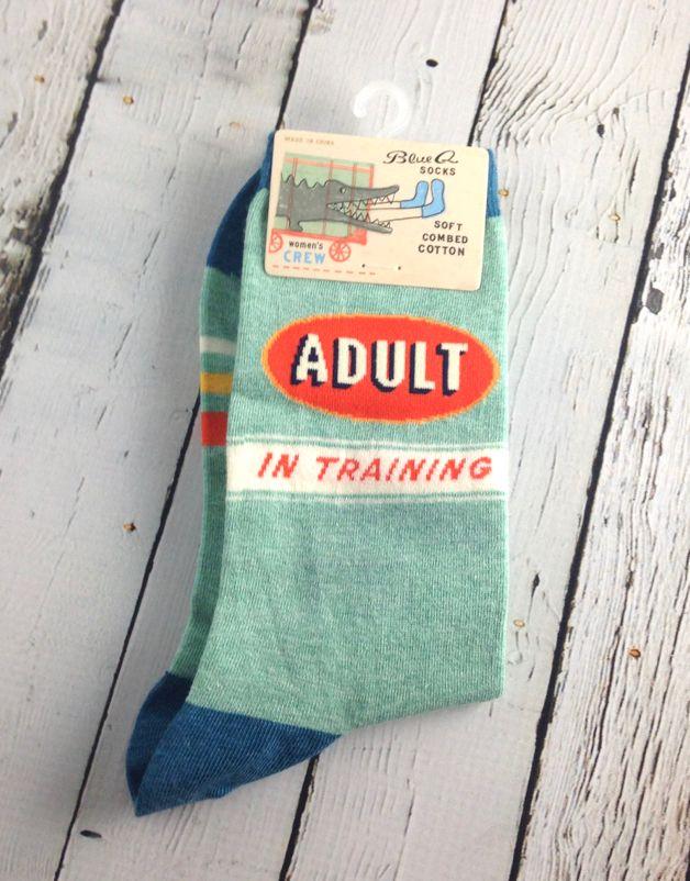 Adult In Training Women's Crew Socks