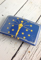 Indiana State Flag Buckle by Fosterweld