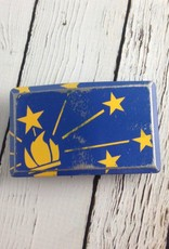 Tilted Indiana Flag Buckle by Fosterweld
