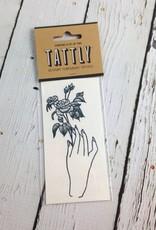 Rosebud Temporary Tattoo
