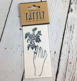 Rosebud Temporary Tattoo