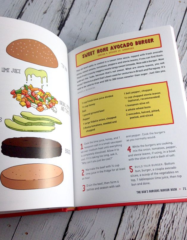 The Bob's Burger's Burger Book