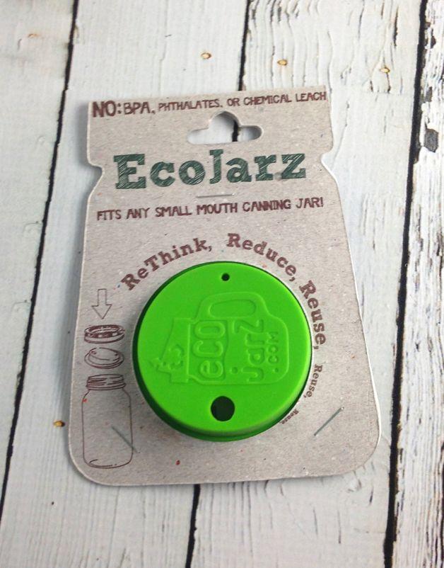 Ecojarz Classic Small Mouth Drinking Jar Lid