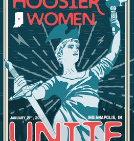 OnTheCusp Hoosier Women Unite print by On The Cusp Design