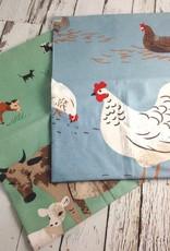 Cow & Hen Tea Towels