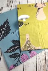 Fungi & Blackberry Flora Tea Towels