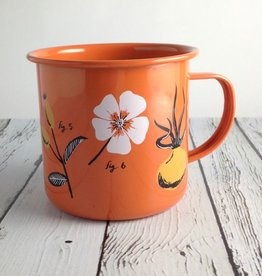 Rosehip Flora Tin Mug