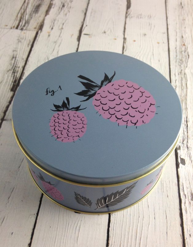 Large Flora Nesting Tin