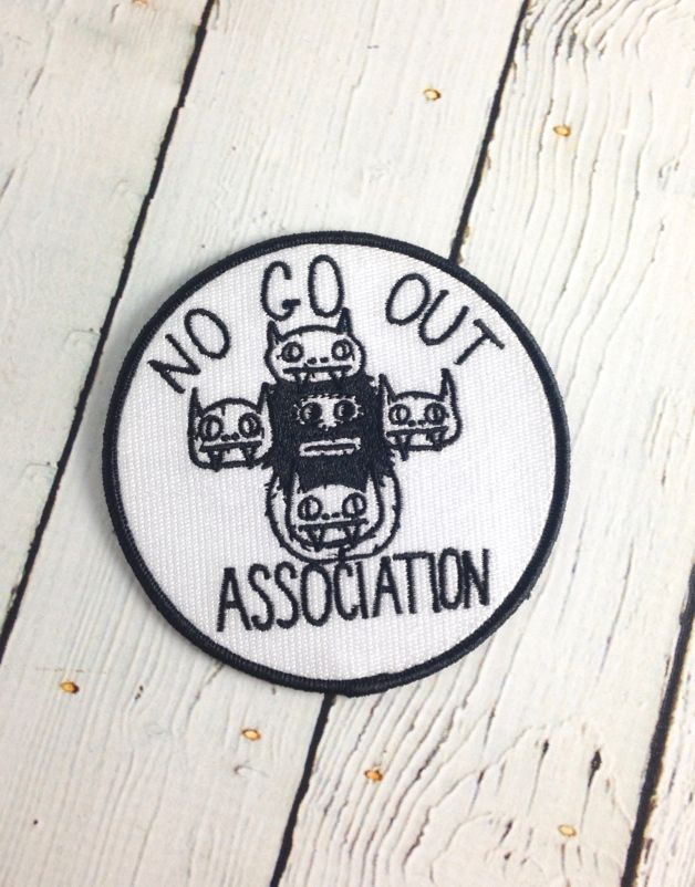 Knock Off Iron-On Patch