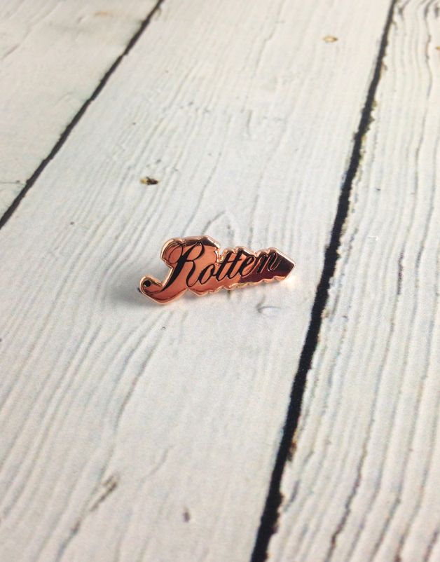 Rotten Lapel Pin
